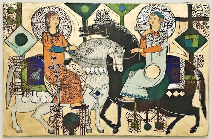 Iranian artist Sadegh Tabrizi