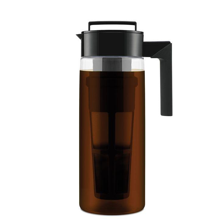 Free 2-day shipping. Buy Takeya 2 qt Cold Brew Coffee Maker, Black at Walmart.com | Iced coffee ...