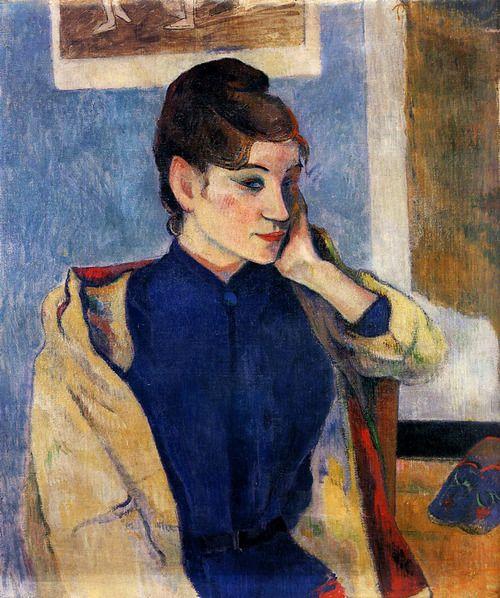 Portrait of Madeleine Bernard - Paul Gauguin 1888