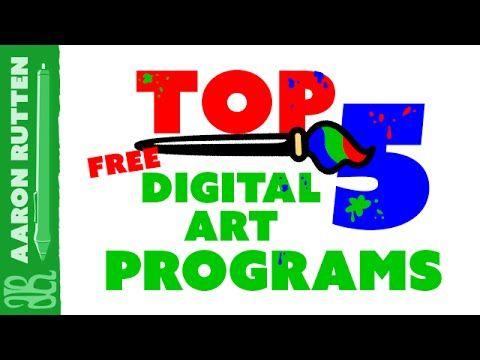 Best FREE Digital Art Software (Full Review)