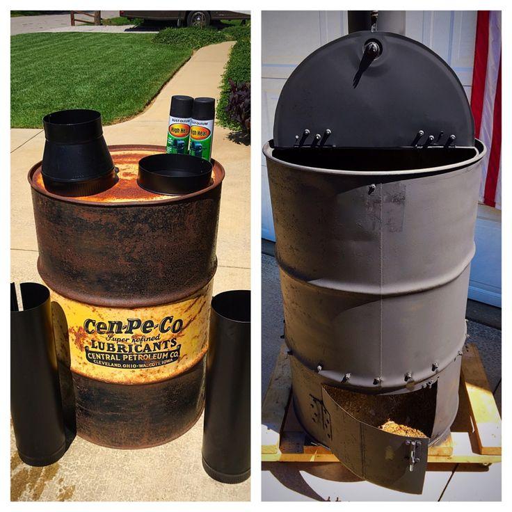 Burn barrel burn barrel barrel fire pit oil drum