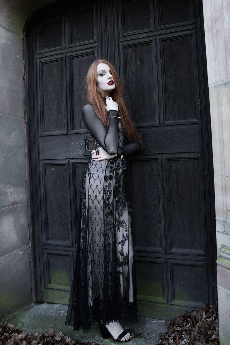 Olivia Emily - UK Fashion Blog.: Dark & Beaded.