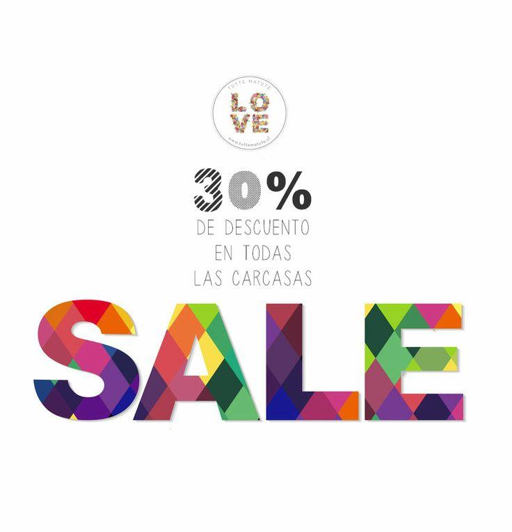 30% de descuento en TODAS las CARCASAS www.tuttematute.cl