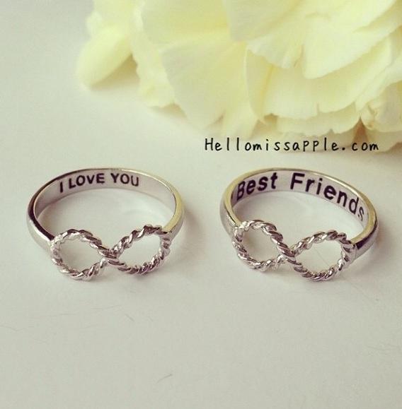 Gold Best Friend Rings