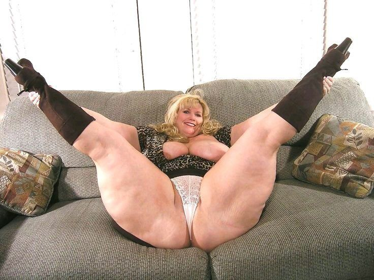 Thick thighs mature naked