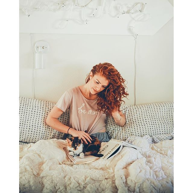 Audrey Roloff red hair extravaganza.