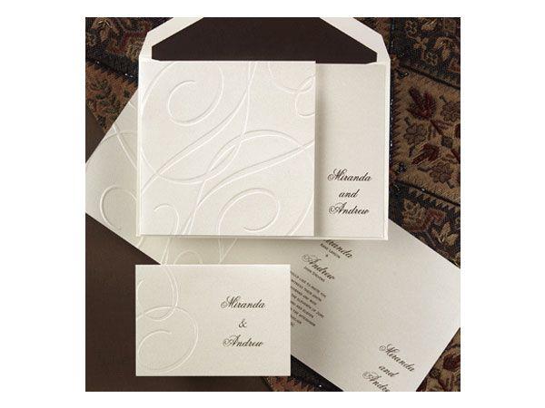 invitacin para boda elegante