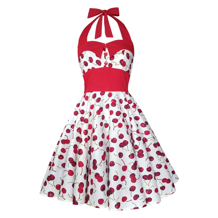 Rockabilly Dress White Red Cherry Dress Pin Up Dress Plus Size Dress 1950s Dress Retro Swing Dress Thanksgiving Dress Bridesmaid Party Dress by LadyMayraClothing on Etsy https://www.etsy.com/listing/244325239/rockabilly-dress-white-red-cherry-dress