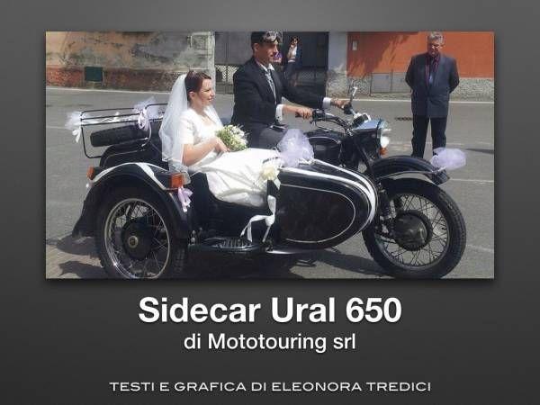 Sidecar Ural 650: uno stupendo veicolo da noleggiare per le vostre Nozze