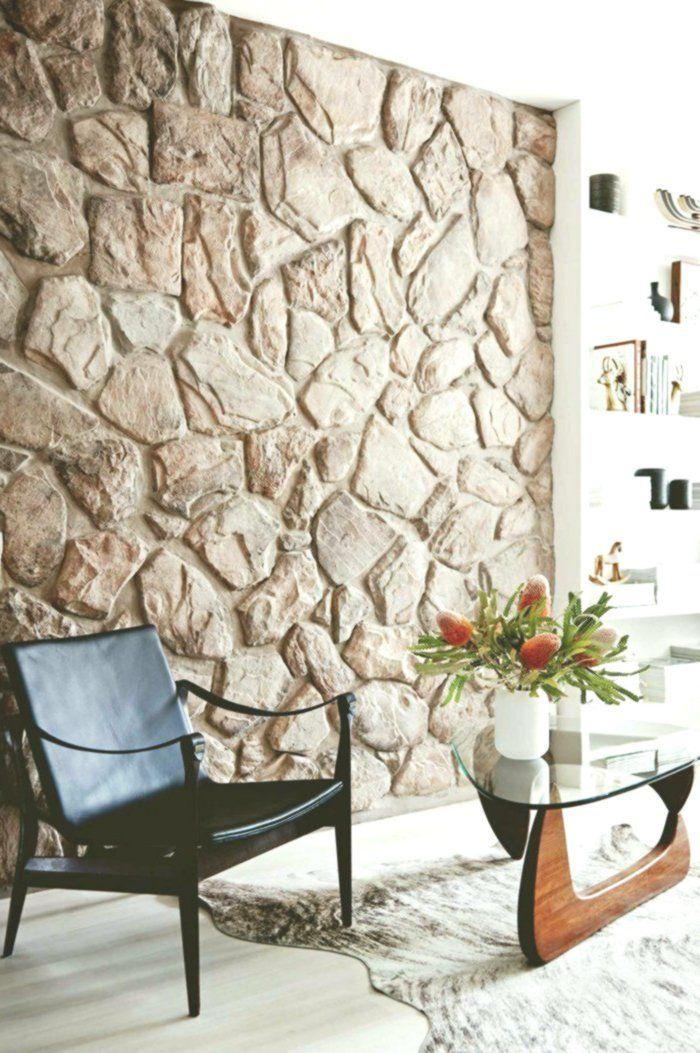 Steinwand Wohnzimmer 43 Beispiele Wie Steine Auf Das Ambiente Wirken Homeaccents Homedecoronlines Steinwand Wohnzimmer Steinwand Wohnzimmer Tv Wand Ideen