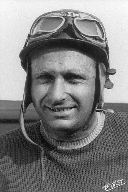 "Juan Manuel Fangio 1955 Italy Grand Prix ""The Master"""