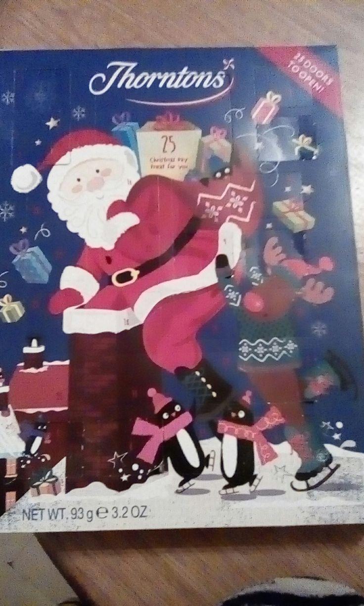 My Thornton's advent calendar! 😅☺