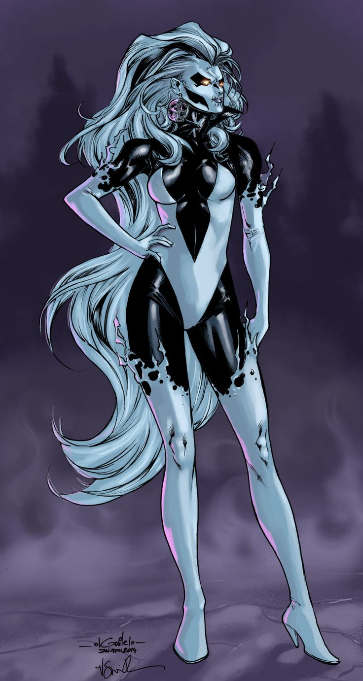 Silver Banshee - Roni Smith colors by SpiderGuile.deviantart.com on @deviantART