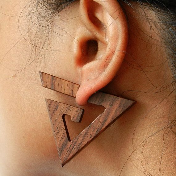 Organic Wooden Earrings- A little big for me but absolutely stunning ☺️