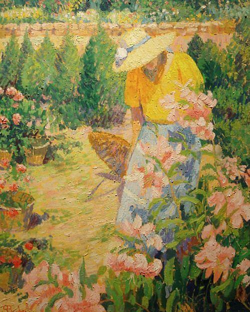 264 best In the garden. images on Pinterest | Painting art, Art ...