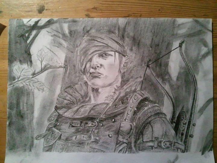 Kresba tužkou, A4