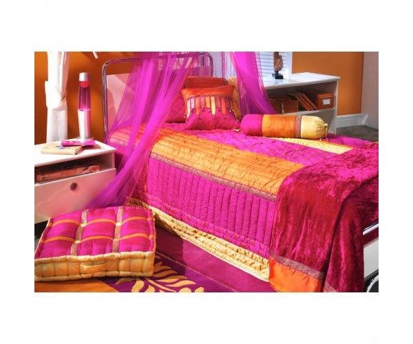 Orange Bedrooms For Girls Bedroom Sets With Led Lights Bedroom Decor Pinterest Black Bedroom Furniture Uk: 16 Best Orange, Purple & Pink Bedroom Images On Pinterest