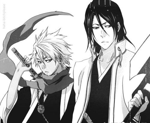 Squad 10 and 6 Captains #bleach