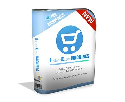 Instant Ecom Machine is a windows based software which allows you post and schedule top selling Amazon products on your WordPress website. The program can post products right away or schedule hundreds of products with your affiliate links in them so you get credit when products are purchased through your website.