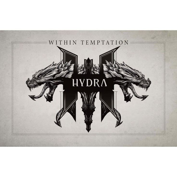 Within Temptation - Hydra Fabric Poster Flag Symphonic Metal Music Band