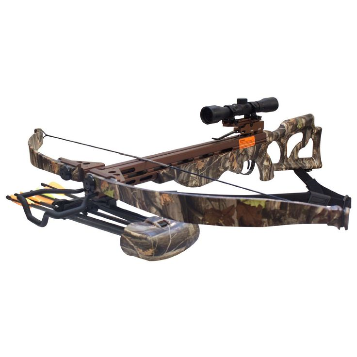 Produk Crossbow - SAS Desert Hawk 225 lbs Next G1 Camo Recurve 4x32 Scope | Pusat Komando