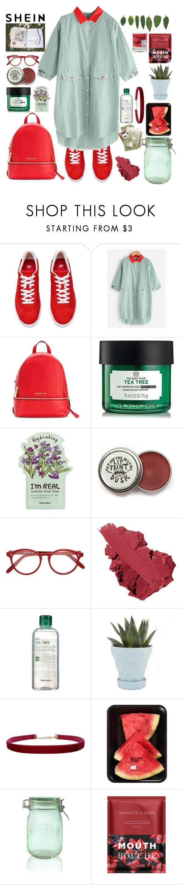 """""""Fight Like a Girl - Zolita"""" by xconstancax ❤ liked on Polyvore featuring Michael Kors, TONYMOLY, Cutler and Gross, Bobbi Brown Cosmetics, Tony Moly, Chive, Humble Chic, Kilner, Nannette de Gaspé and Maison La Bougie"""