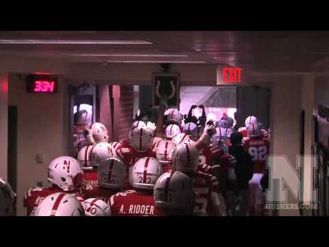 Favorite moment of any Husker game for me! Nebraska Tunnel Walk vs Minnesota 2012 - Tom Osborne Tribute
