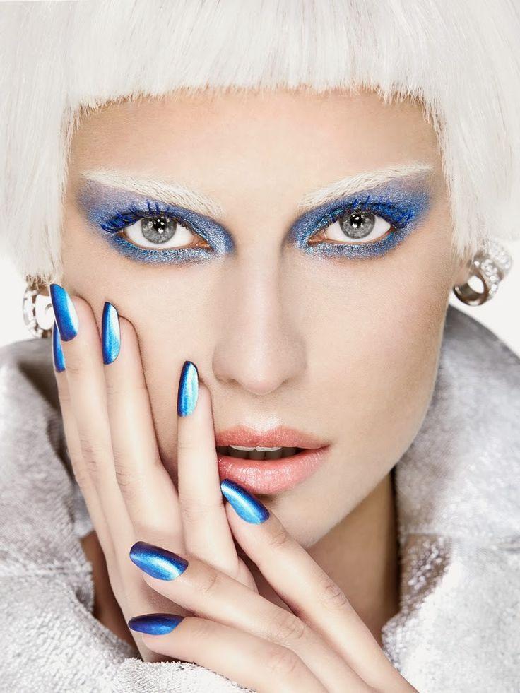 Editorial de beleza da Vogue Brasil por Max Weber (Foto: Arquivo Vogue)