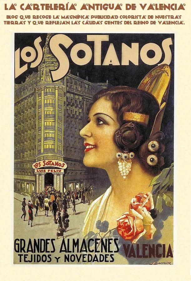 Carteles antiguos de Valencia #historia #publicidad #carteles