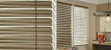 "Reveal® When the view is your focal point, opt for Reveal® with MagnaView® aluminum blinds. Designed to allow slats to nest together, they provide twice the view-through of a standard 2"" slat blind."