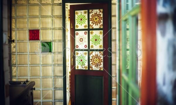 door_with_stained_glass