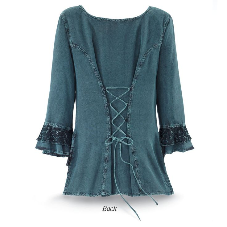 Embroidered Celtic Top - New Age, Spiritual Gifts, Yoga, Wicca, Gothic, Reiki, Celtic, Crystal, Tarot at Pyramid Collection