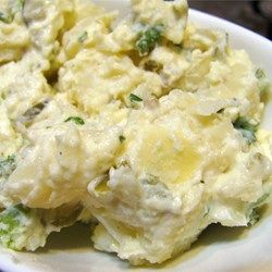Restaurant-Style Potato Salad - Complex taste. Add eggs. Allrecipes.com
