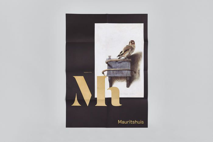 Studio Dumbar: Mauritshuis — a New Identity for the Home of Dutch Golden Age Painting