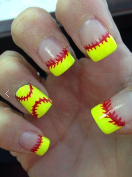 Softball nails!