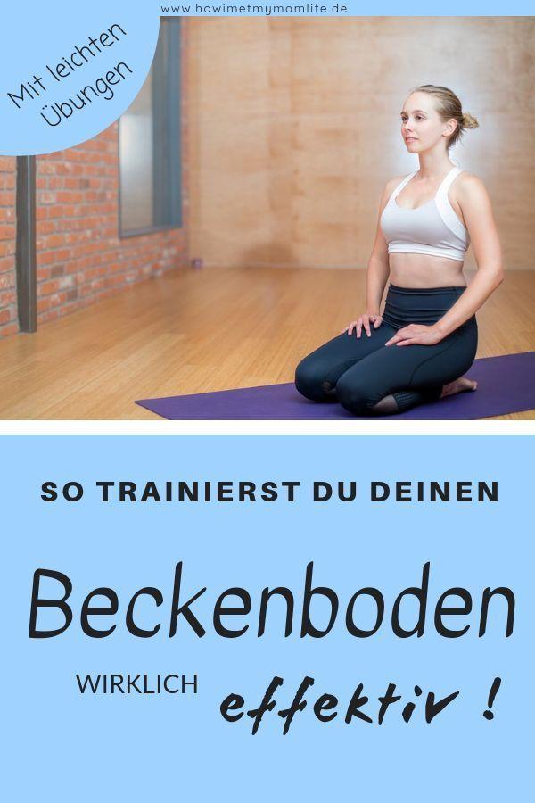 Beckenboden selbst trainieren – effektive Rückbildung nach der Geburt