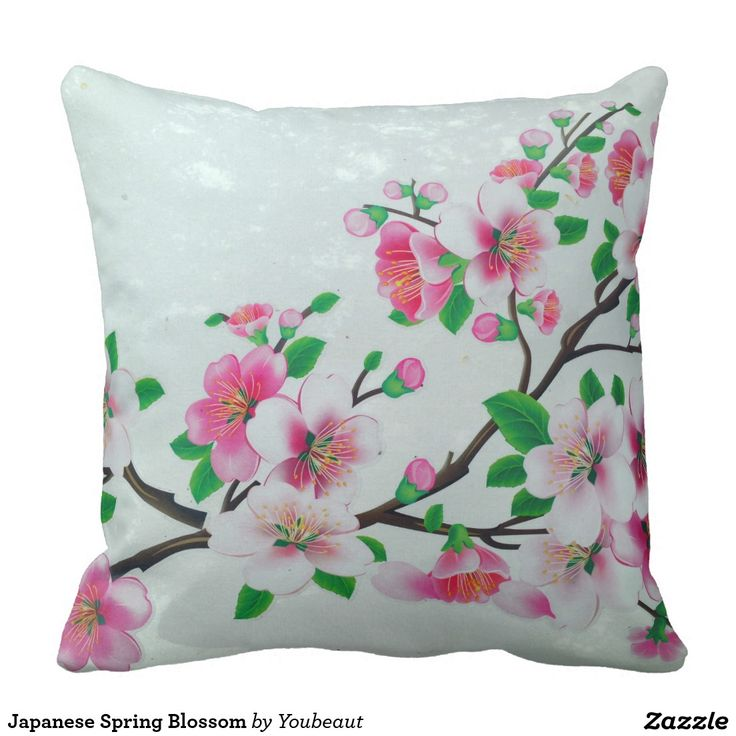 Japanese Spring Blossom Pillows