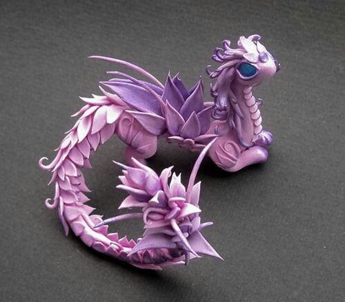 Fimo Drachen