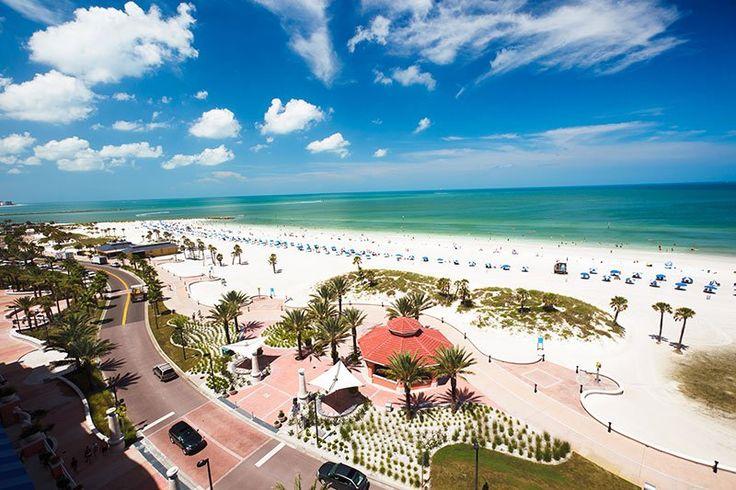 Praia e diversão na região de Clearwater e St. Pete na Flórida