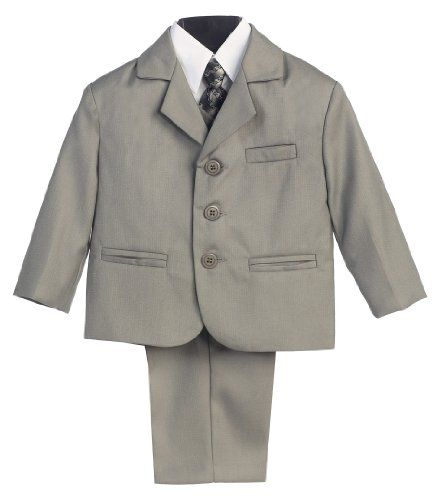 5 Piece Light Gray Suit with Shirt, Vest, and Tie - Size 5 Lito,http://www.amazon.com/dp/B0030XL5UI/ref=cm_sw_r_pi_dp_6Agytb0FBNBF0YTD