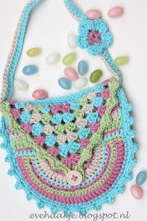 Sweet Crochet Bag: free pattern