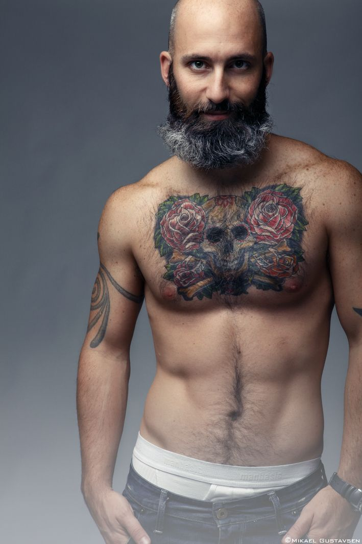 163 best incredible bald men images on pinterest faces for Naked men tattoo