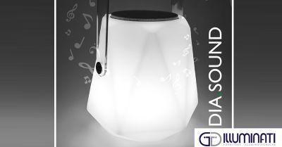 Questo Natale...regala DIA.SOUND. Scopri la lampada musicale!