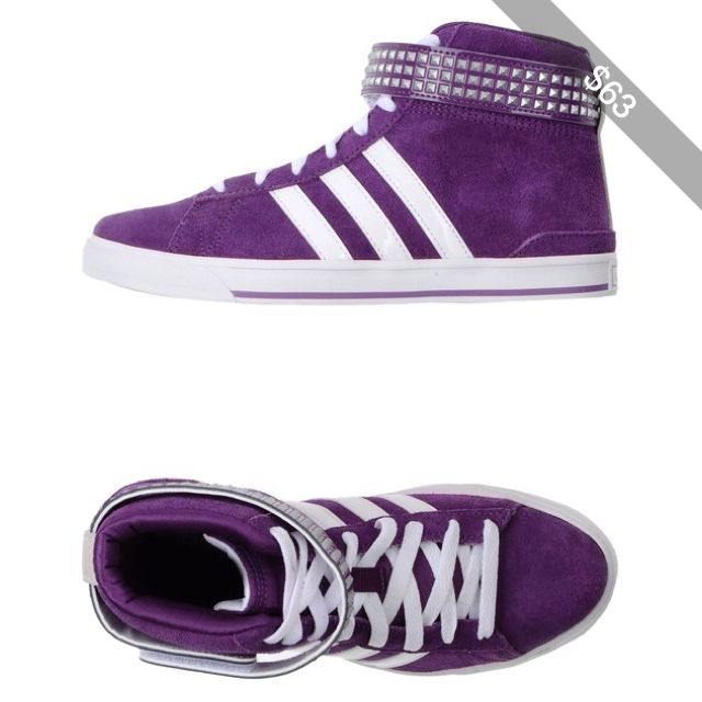 adidas neo high purple