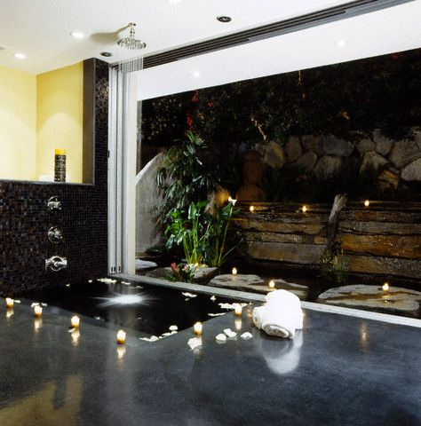 Indoor Fountains | Design Dream House: Modern Indoor Waterfall Fountain