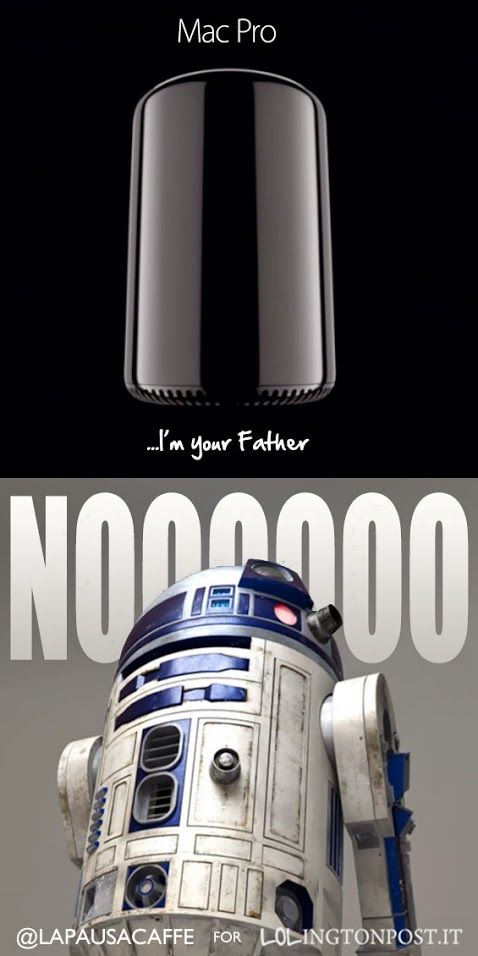 """I'm your father"" 