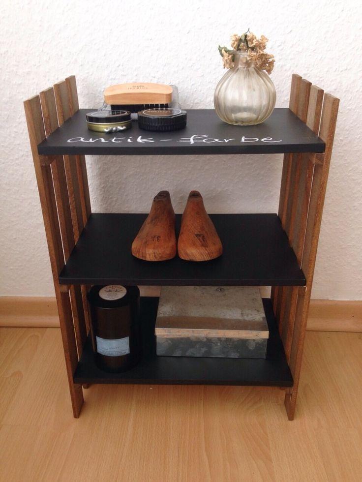 セリアのすのこ×ミニ黒板で簡単リメイク|+ antique style × interior +