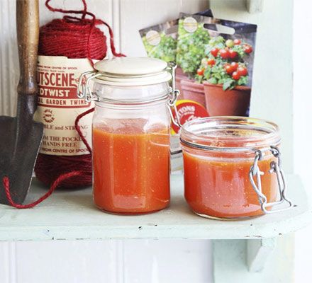 Try batch cooking this tomato passata so you can enjoy the taste of late summer all year round.
