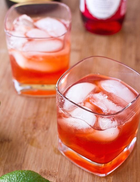 Tasty Tuesday: Amaretto Sour with Grenadine. Looking for an alternative to beer on Game Day? Give these a try.