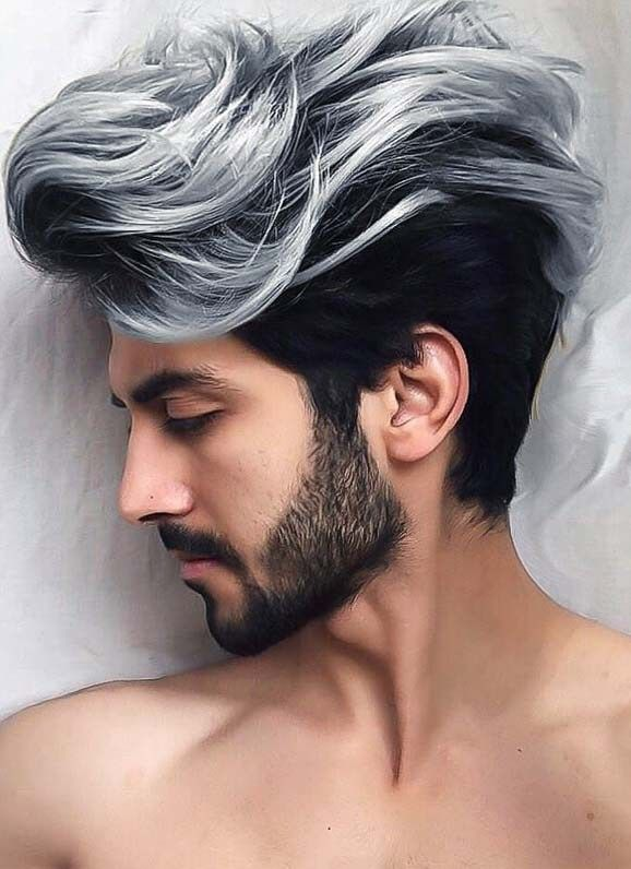 Amazing Hair Color Ideas For Men To Show Off In 2019 Primemod Men Hair Color Mens Hair Colour Men Haircut Styles